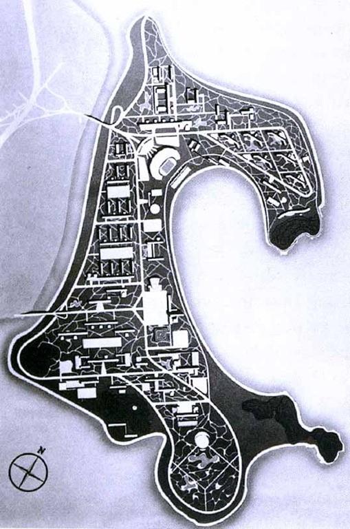 Cidade Universitária na Ilha do Fundão, 1955-60, Jorge Moreira e equipe