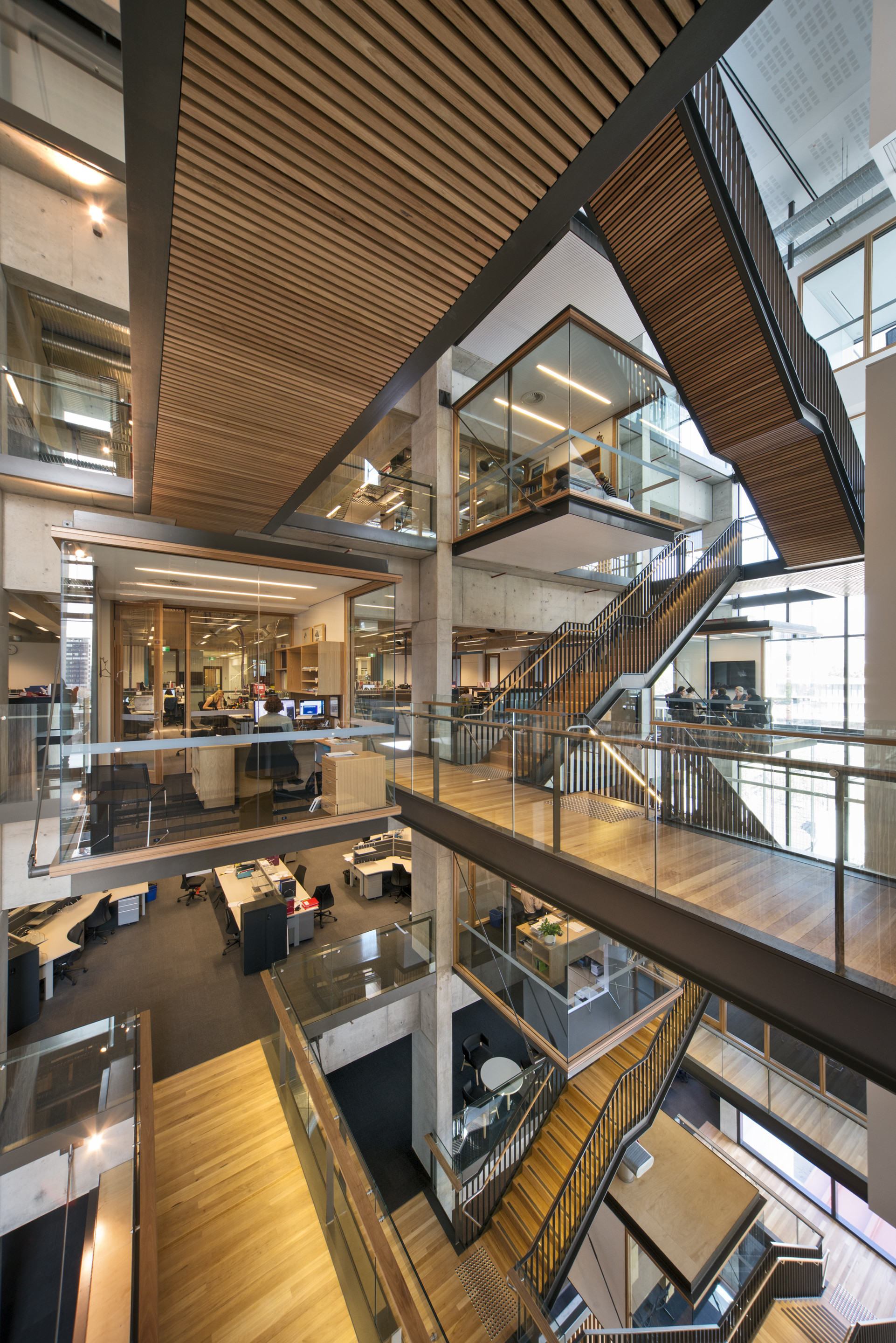 The kinghorn cancer centre bvn architecture archdaily for New space architects