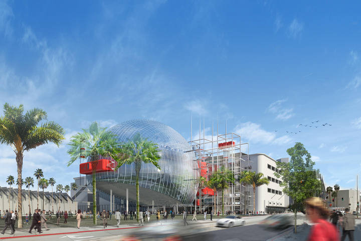 Primeras imágenes del Academy Museum of Motion Pictures / Renzo Piano, Courtesy of rtve