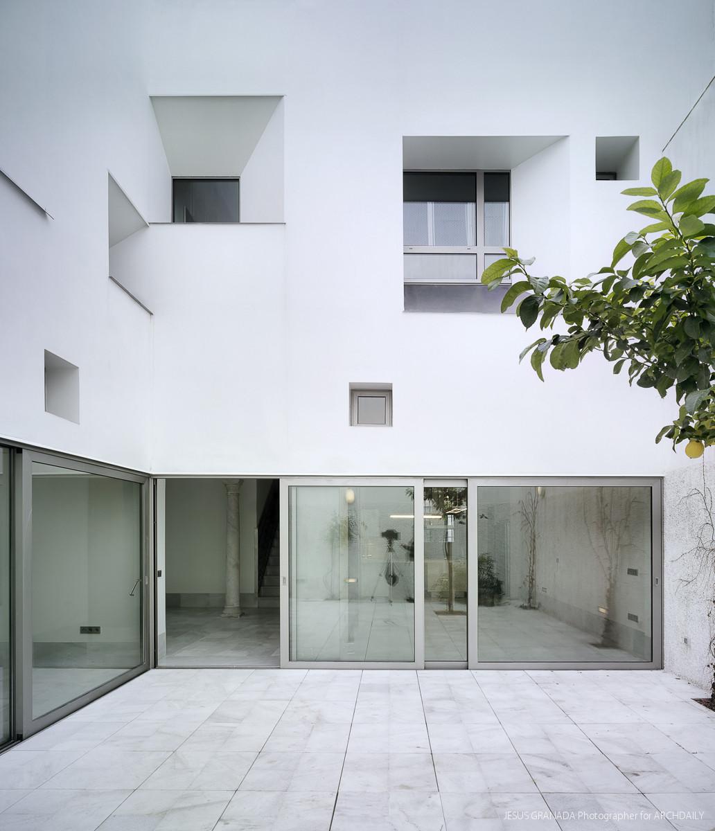 Galeria de casa malpartida sv60 arquitectos 1 for Arquitectos para casas