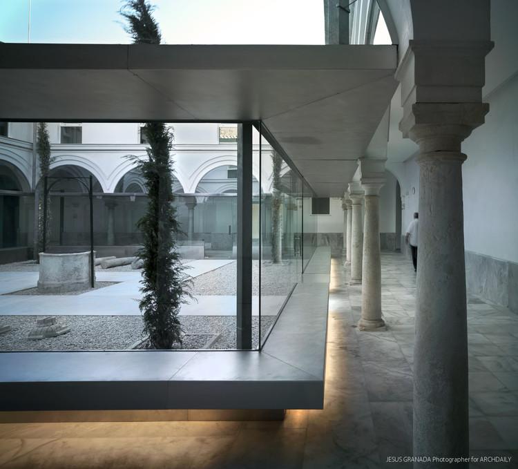 Rehabilitaci n del hospital san jer nimo sv60 arquitectos plataforma arquitectura - Arquitectos en granada ...