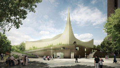 Central Mosque of Pristina Competition Entry / Taller 301 + Land+Civilization Compositions