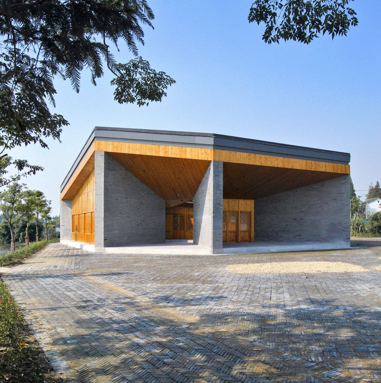Community Pavilion at Jintao Village / Scenic Architecture, Courtesy of Scenic Architecture
