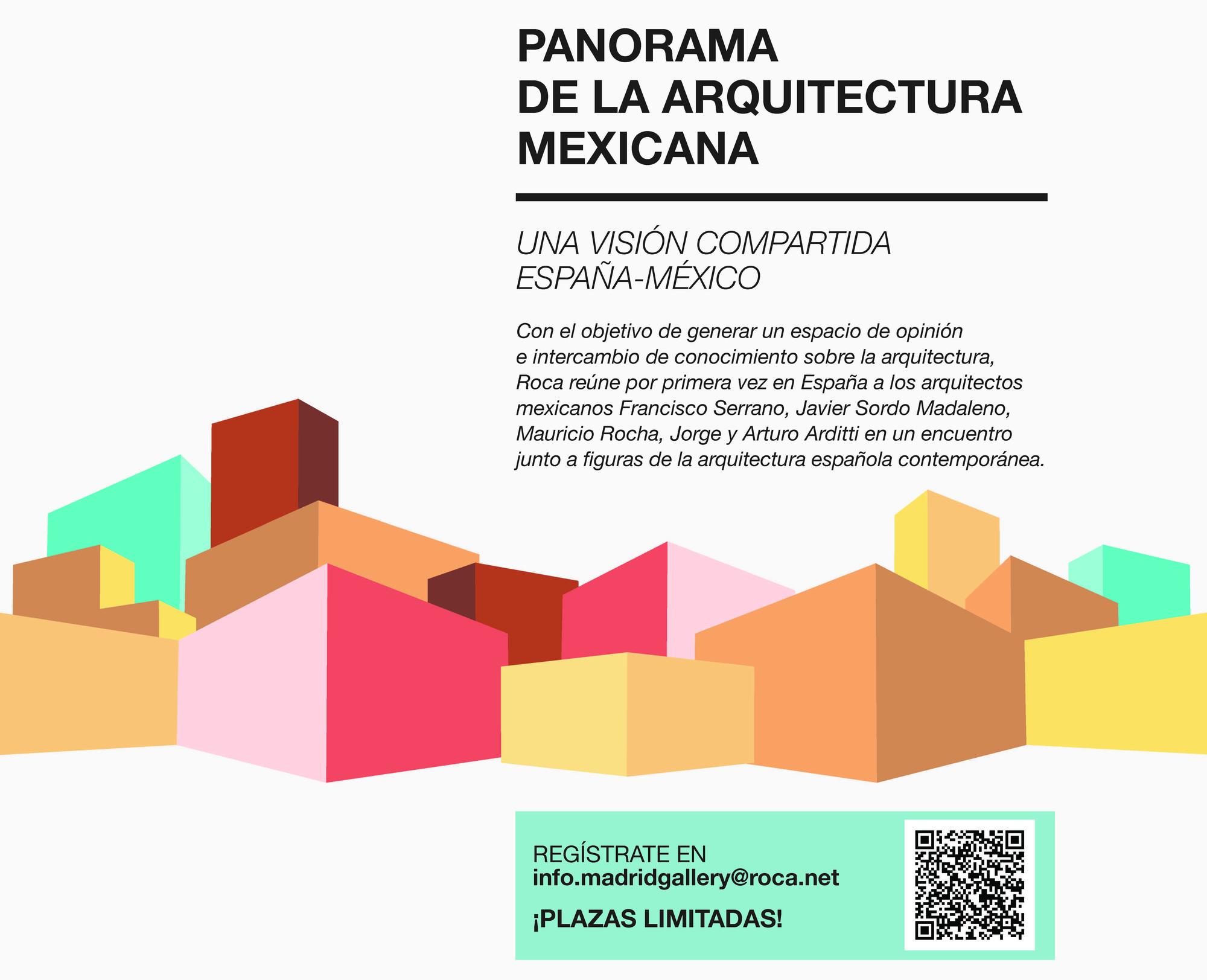 """Jornadas """"Panorama de la arquitectura mexicana. Una visión compartida España-México"""""""