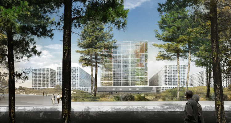 International Criminal Court Ground-Breaking / schmidt hammer lassen architects, © schmidt hammer lassen architects