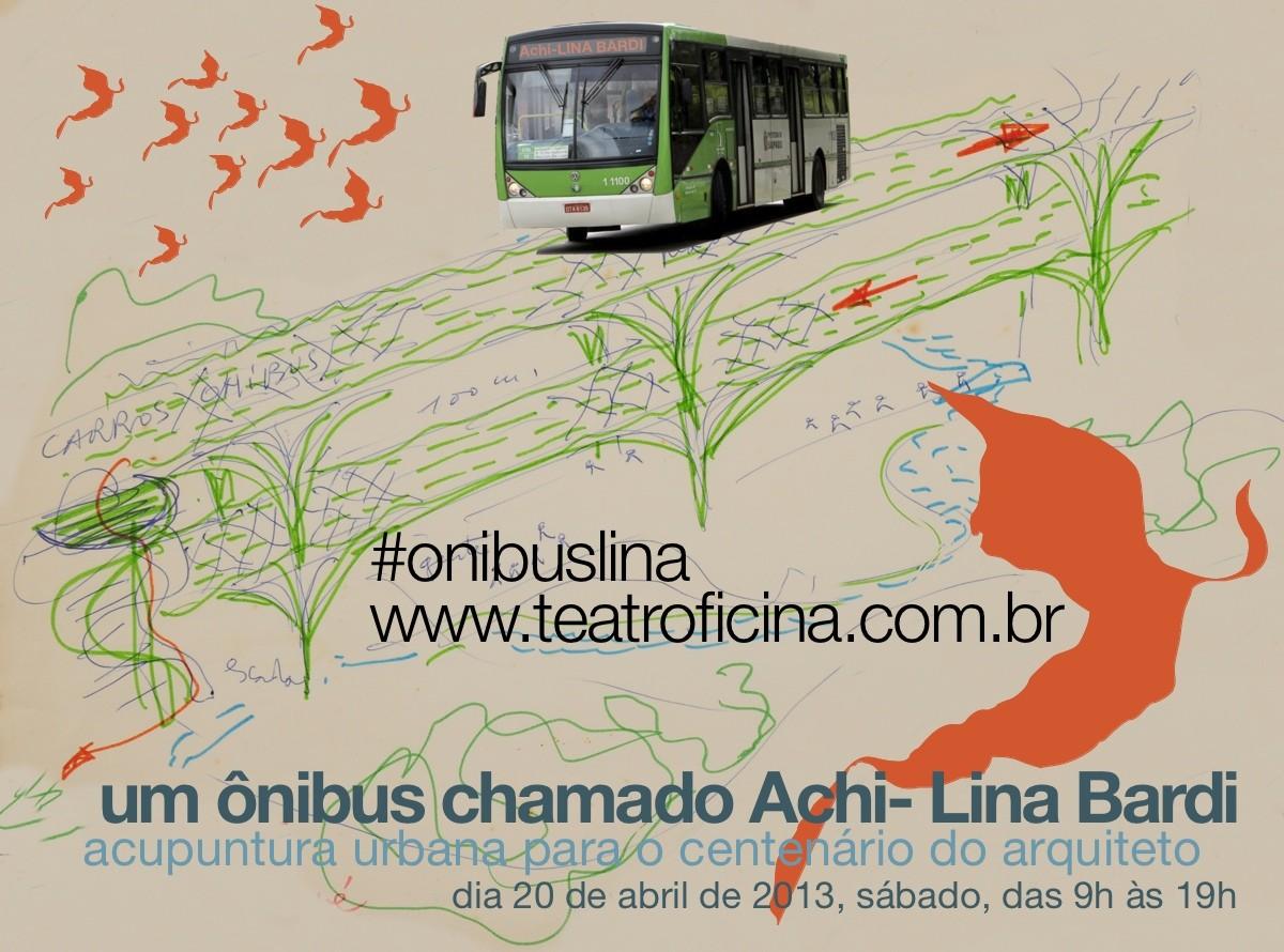 Roteiro de Acupuntura Lina Bardi, Divulgação. Imagem via Teat(r)o Oficina.