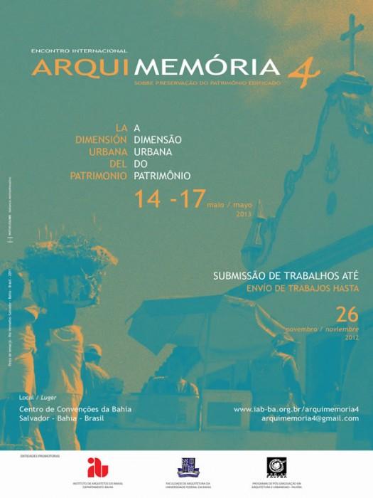 ArquiMemória 4 – Encontro Internacional sobre Preservação do Patrimônio Edificado, Courtesy of Instituto de Arquitetos do Brasil