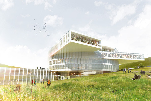 BIG Breaks Ground on Faroe Islands Education Centre, Courtesy of BIG
