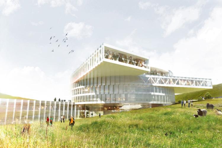 BIG inicia a construção de Centro Educacional nas Ilhas Faroe, © BIG