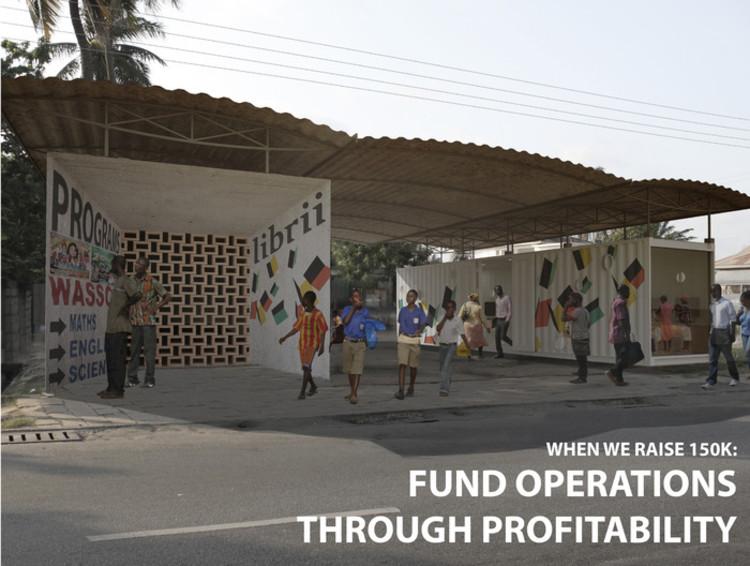 Kickstarter: Um Novo Modelo de Biblioteca na África, Divulgação. Imagem via archdaily.com