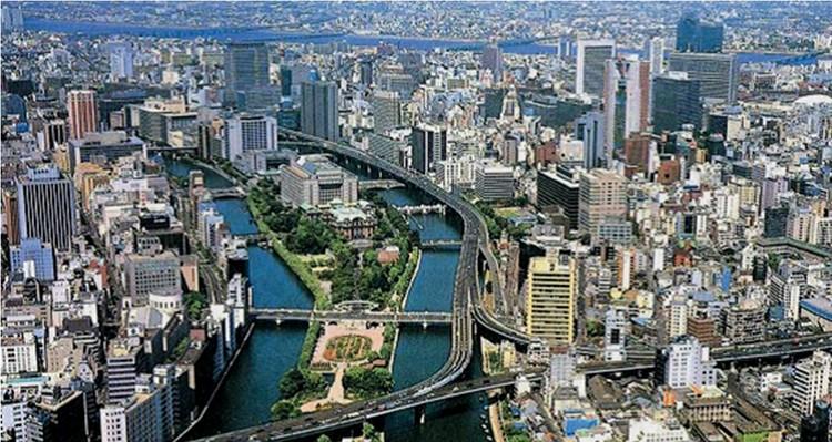 Perspectivas sobre Osaka: Propostas de recuperação do território, Imagem via plataformaurbana.cl