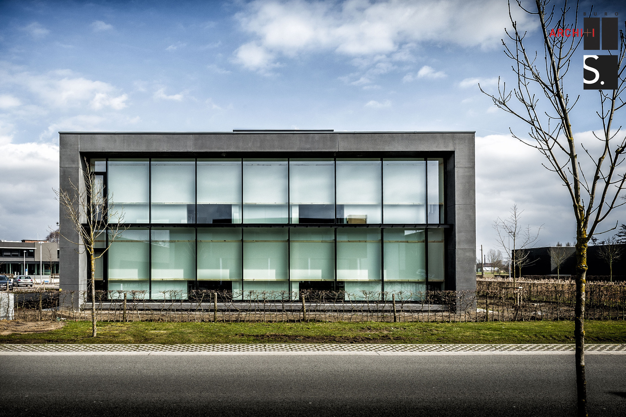 Bekaert office building buro ii archi i sileghem for Architecture buro