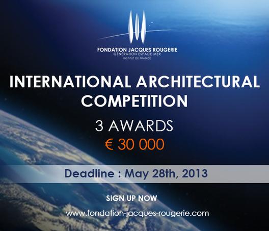 Concurso Internacional Fundación Jacques Rougerie, Cortesía de Jacques Rougerie Foundation