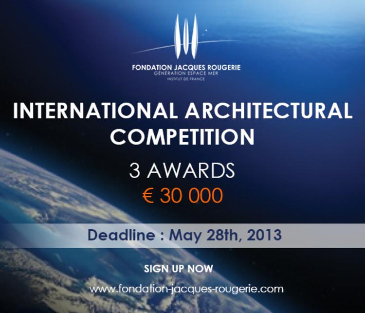 Concurso Internacional Fundação Jacques Rougerie , Cortesia da Fundação Jacques Rougerie