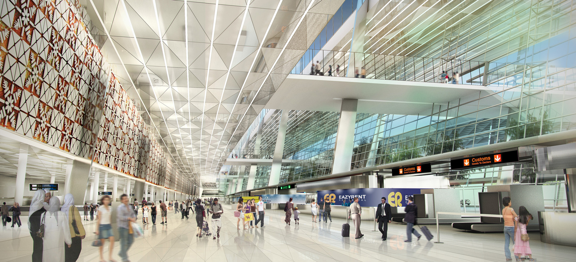 Gallery Soekarno Hatta International Airport Terminal 3 Winning Proposal Woodhead 3