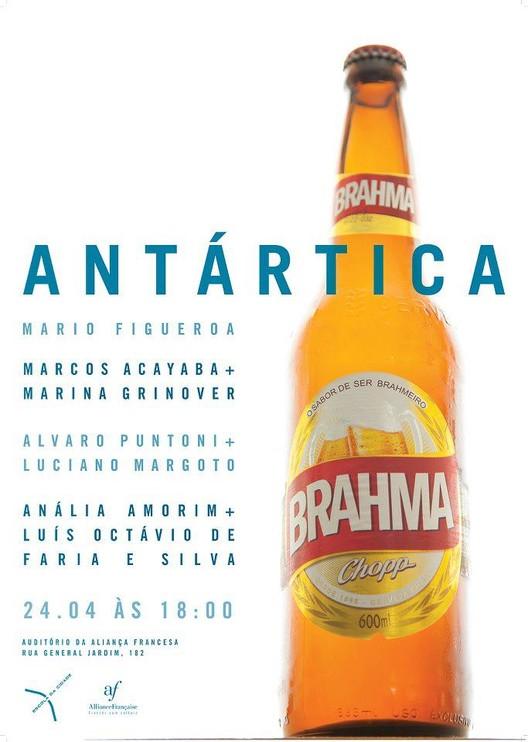 Seminário de Cultura e Realidade Contemporânea: Antártica / São Paulo, Divulgação.
