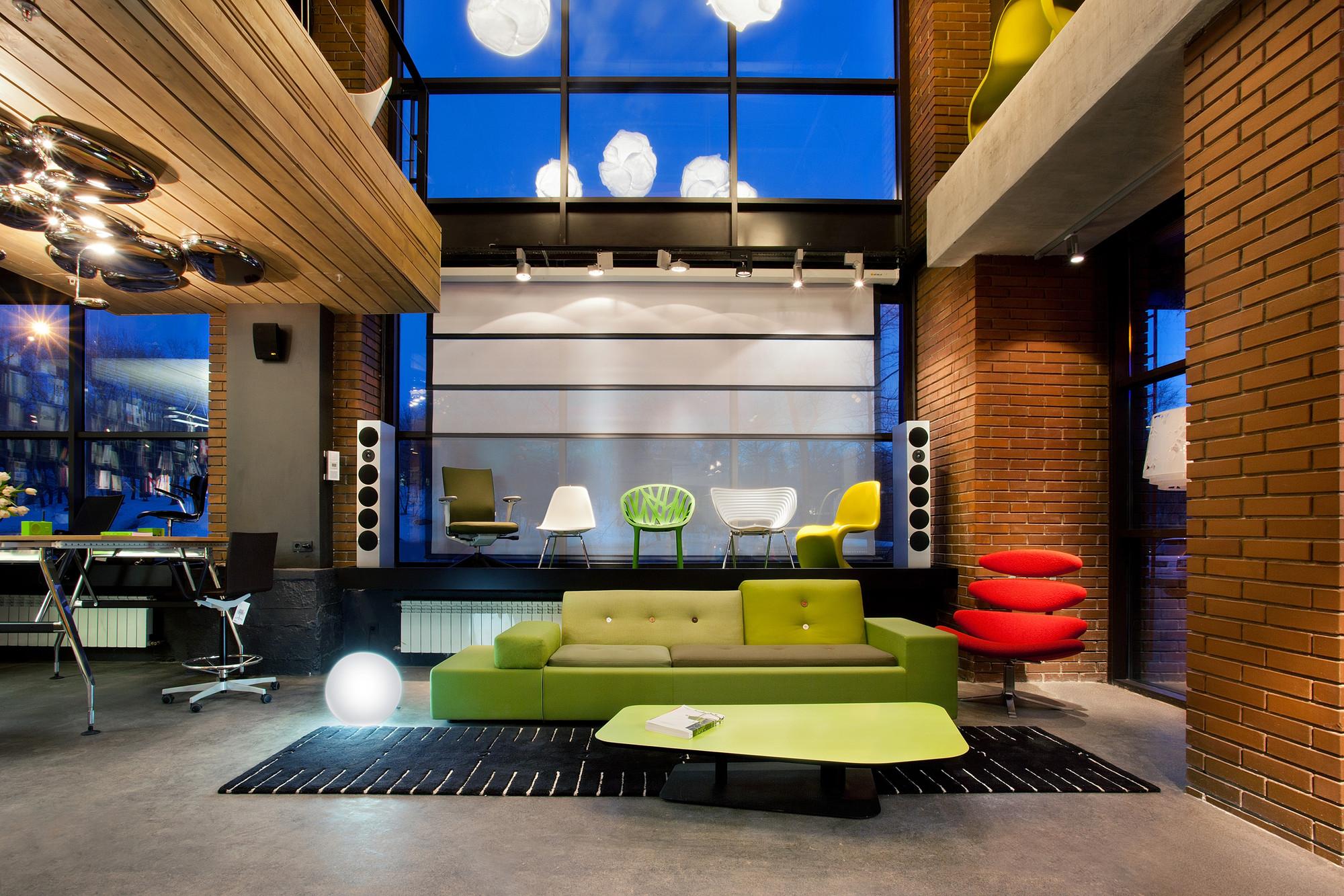Gallery of office showroom for dk megabudka 6 for Design 4 office lausanne