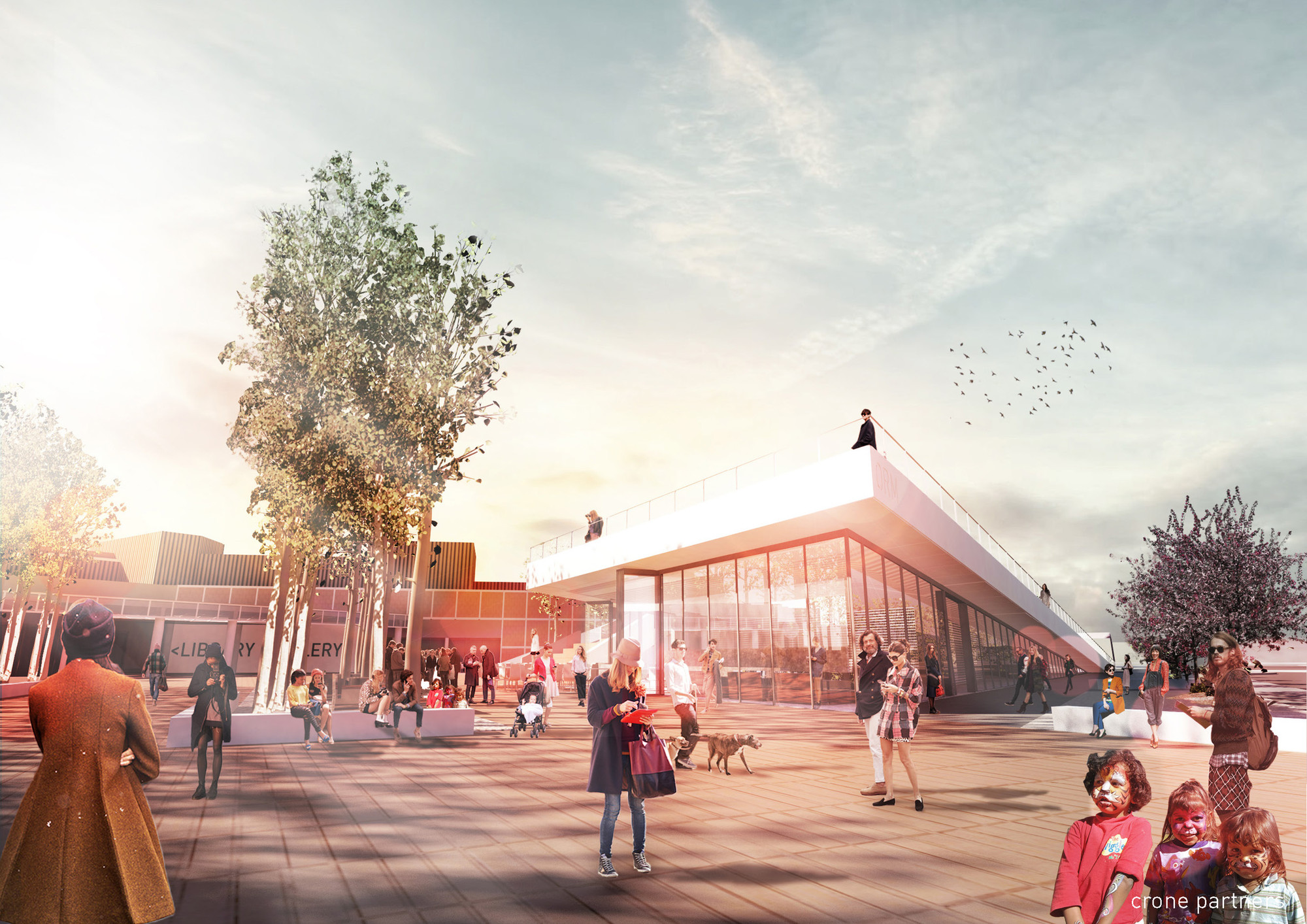 Orange Regional Museum Winning Proposal / Crone Partners, Courtesy of Crone Partners