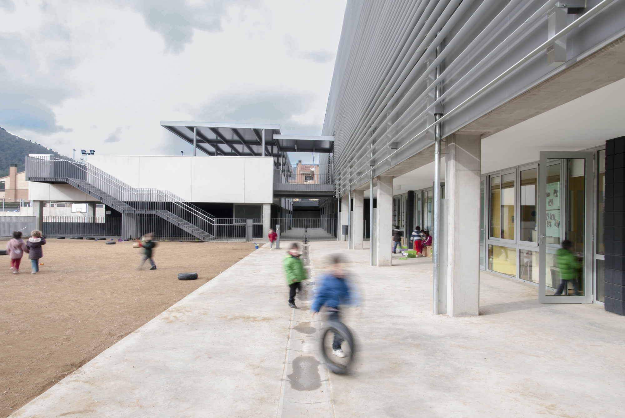 New Cervelló School / BCQ Arquitectura, Courtesy of BCQ Arquitectura