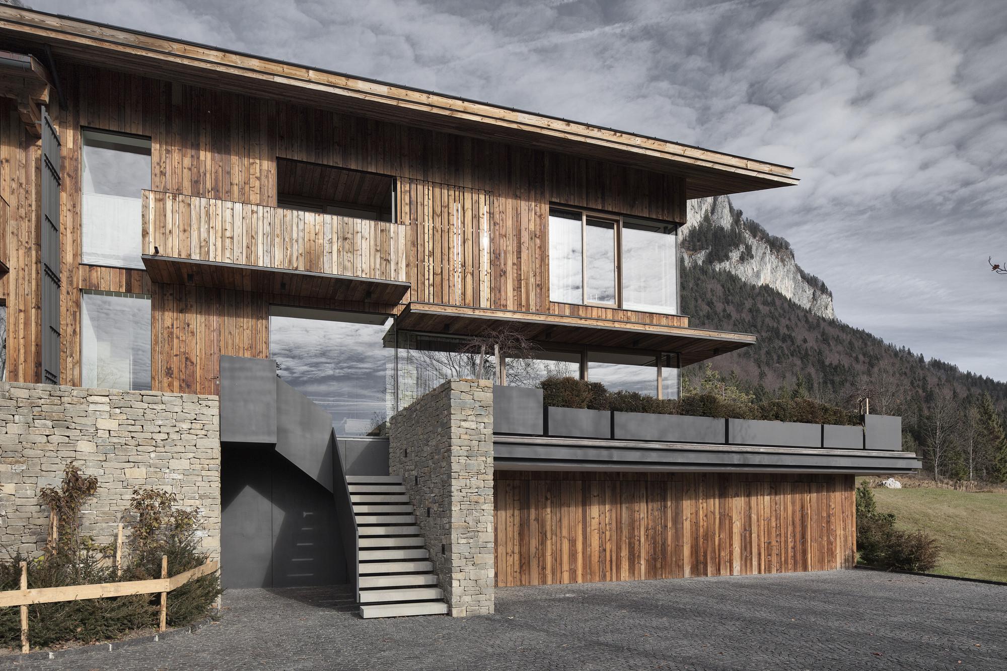 Gallery of haus wiesenhof gogl architekten 7 for Departamentos arquitectura moderna