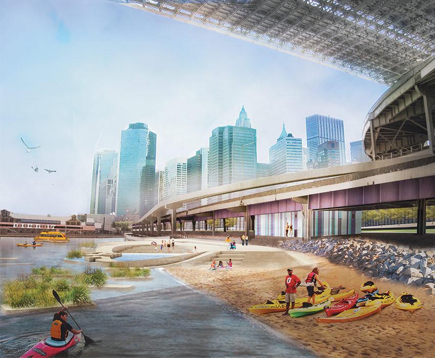 """""""River to the People"""": Plano de Recuperação da Costa de Nova York"""