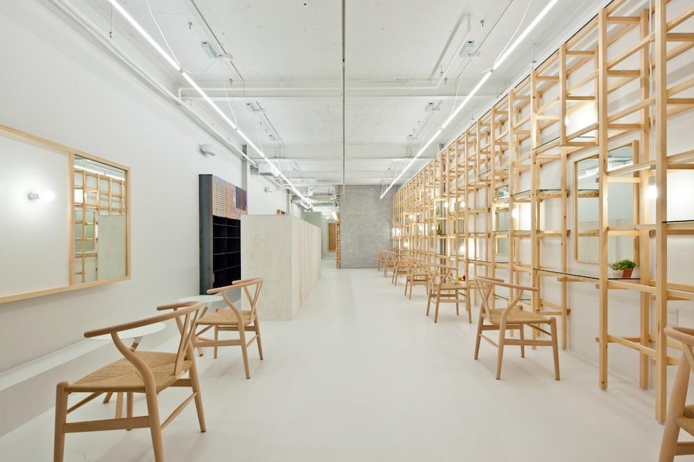 End Link Beauty Salon Yasunari Tsukada Design Archdaily