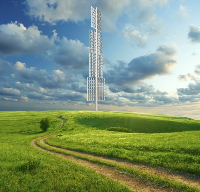 PowerWINDows: A Proposal for Skyscraper-Compatible Wind Turbines