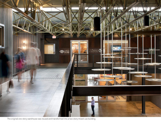 Pearl Brewery/Full Goods Warehouse; San Antonio / Lake Flato Architects, Image Courtesy of the AIA