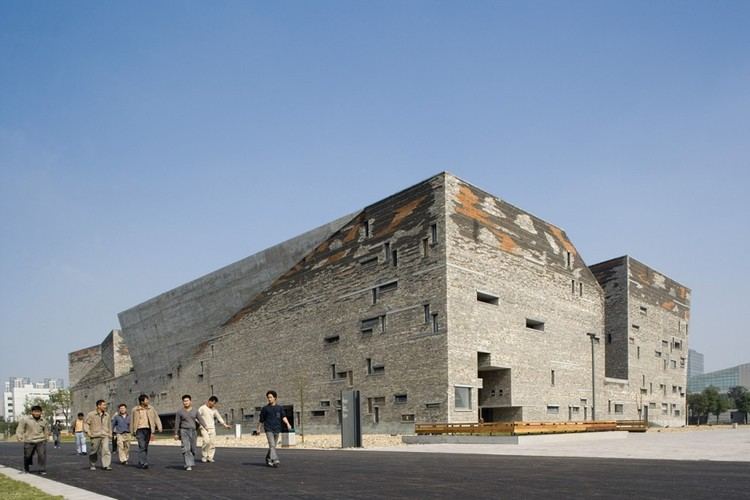 Wang Shu citado como uma das 100 Pessoas Mais Influentes do Mundo segundo a TIME, Ningbo History Museum © Lv Hengzhong, Courtesy of Amateur Architecture Studio