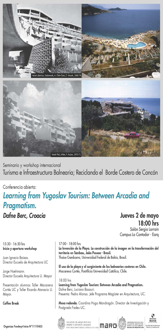 CONFERENCIA | Dafne Berc, Learning from Yugoslav Tourism: Between Arcadia and Pragmatism