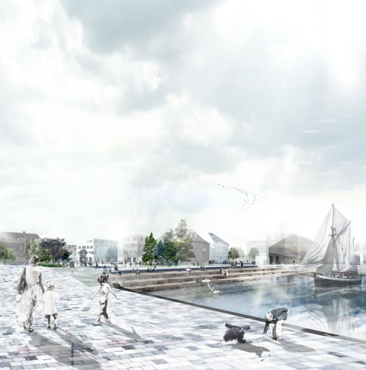 HOBRO – Proposta Vencedora do Concurso 'Uma Cidade Encontra Seu Lago' / Holscher Arkitekter, Cortesia de Holscher Arkitekter