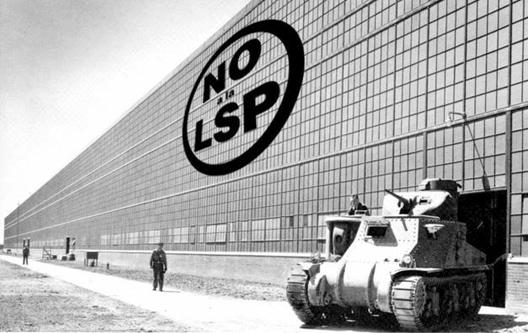 Todo sobre la Ley de Servicios Profesionales en España, Courtesy of NOalaLSP