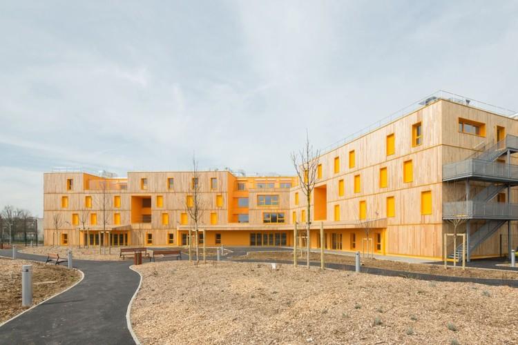 Morangis Retirement Home / VOUS ETES ICI Architectes, © 11H45