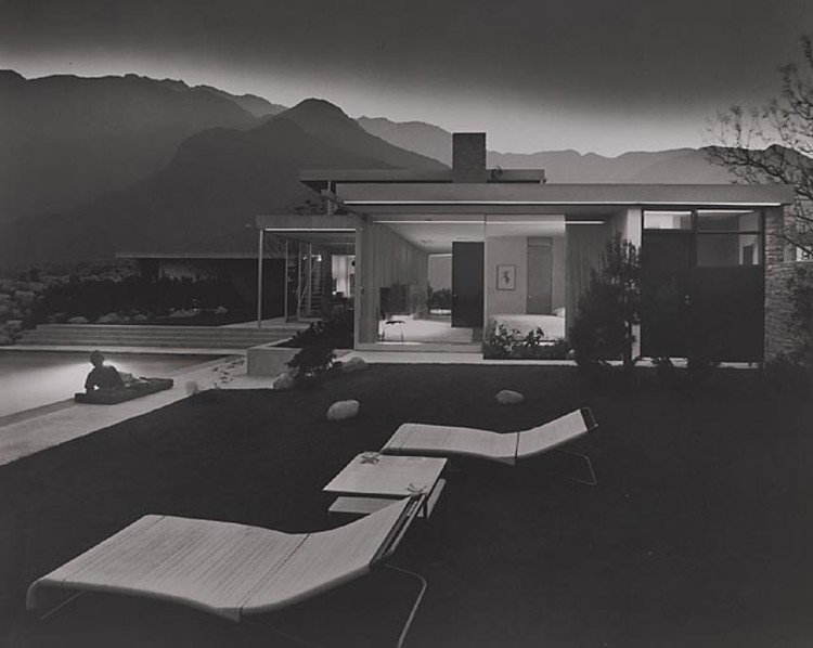 Construa Sua Própria Neutra Home!, Kaufmann House, 1947 Palm Springs, CA / Richard Neutra, architect © Julius Schulman