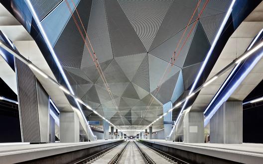Highspeed Train Station in Logroño / Abalos+Sentkiewicz © Jose Hevia