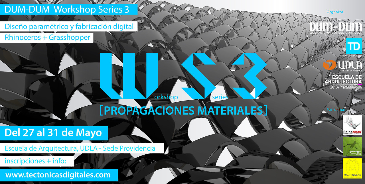 "Workshop series 3 ""Propagaciones Materiales"" / Chile ¡Sorteamos un cupo!, Courtesy of Dum-Dum Lab"