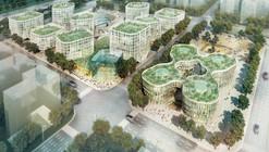 Projeto Ganhador para o Distrito Empresarial de Hongqiao / MVRDV