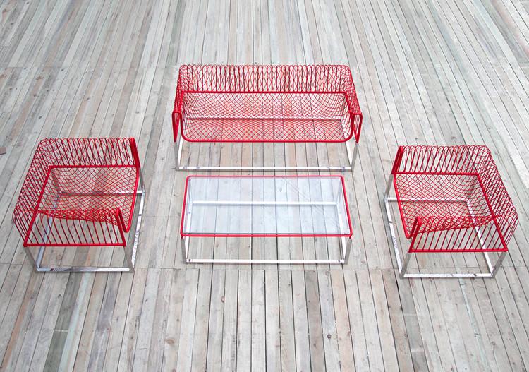 Mesh Sofá / People's Industrial Design Office, Cortesia de PIDO