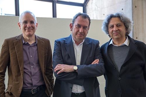 Preston Scott Cohen, Iñaki Ábalos y Mohsen Mostafavi
