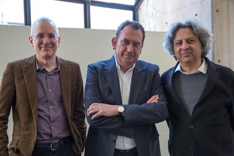 Iñaki Ábalos é o novo Diretor do Departamento de Arquitetura em Harvard GSD, Preston Scott Cohen, Iñaki Ábalos e Mohsen Mostafavi