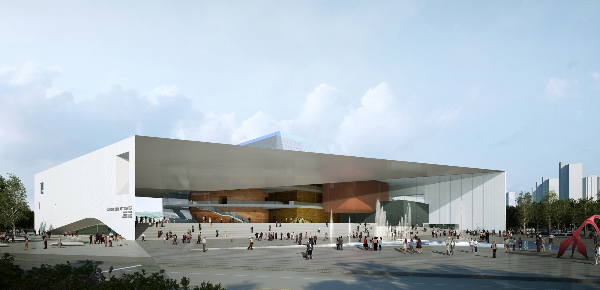 Gallery Of Sejong Art Center 2nd Prize Winning Proposal Tomoon Architects Engineers Ison