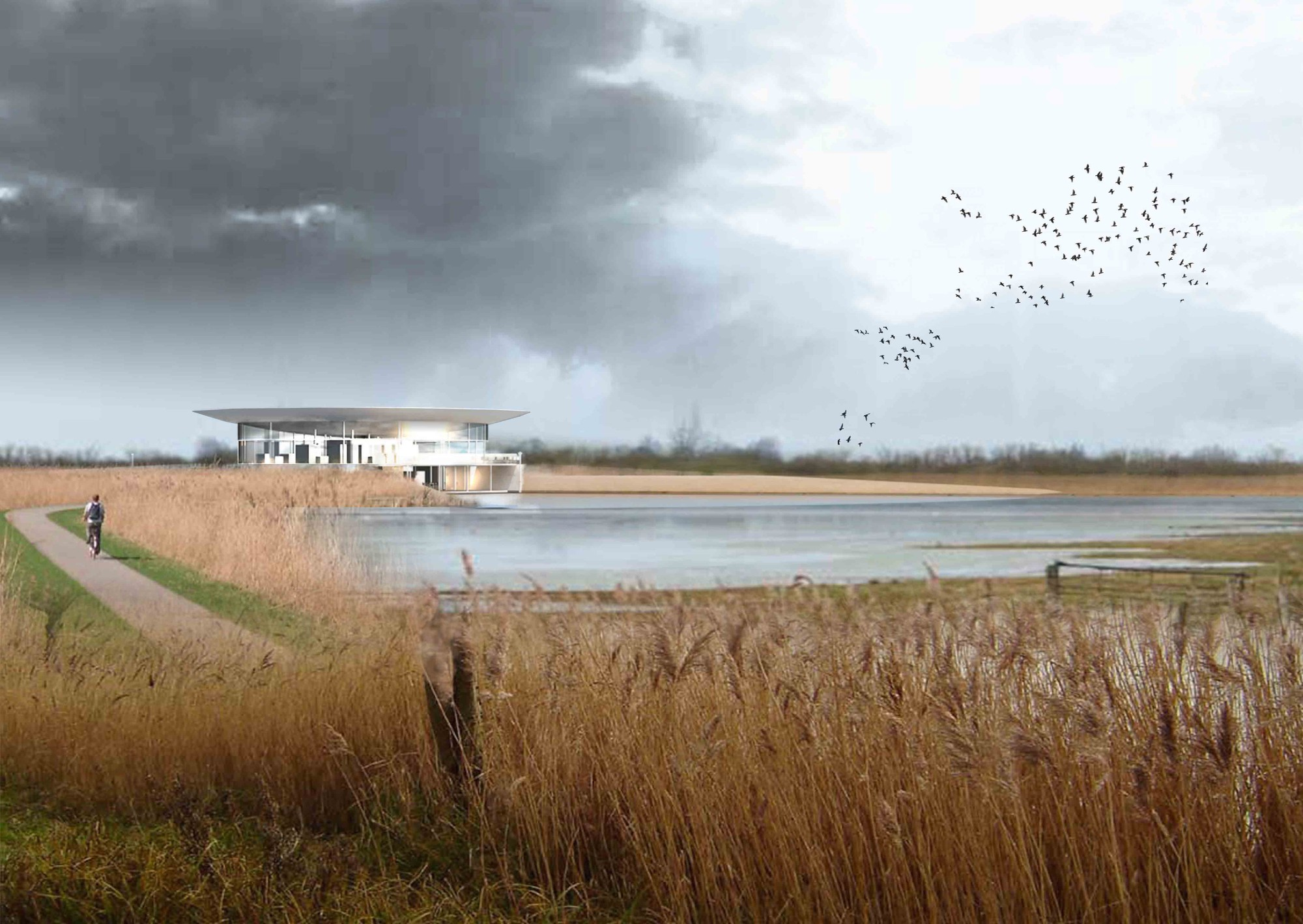 'The Great Sky': Great Fen Visitor Center Competition Entry / Nicholas Hare Architects, Courtesy of Nicholas Hare Architects