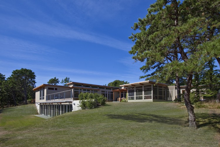 Ampliação na Casa Cape Cod / Hammer Architects, © Peter Vanderwarker