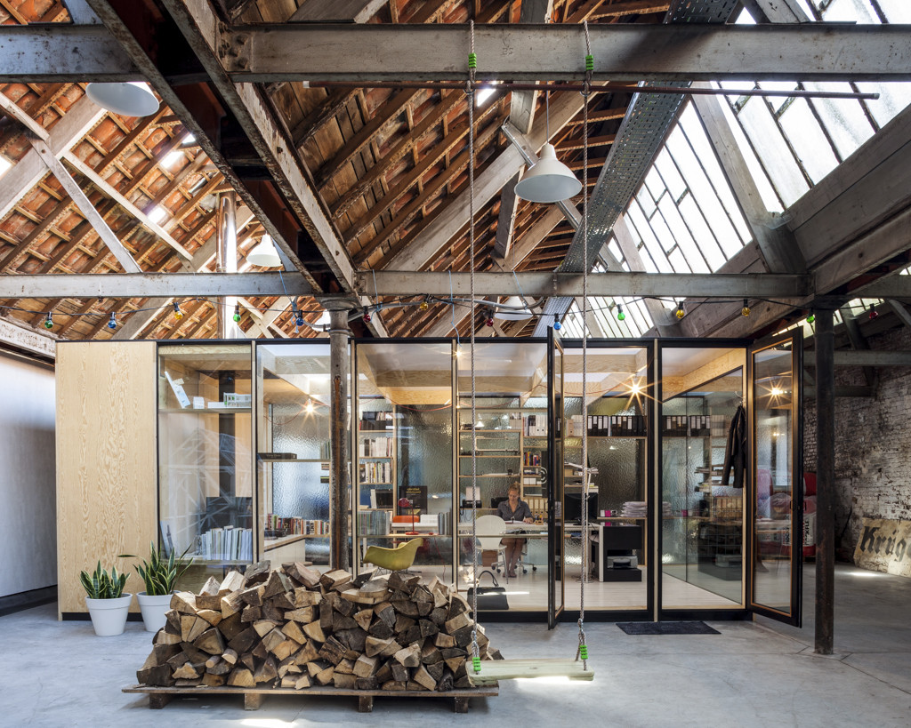 Factory life julie d 39 aubioul archdaily - Commercial van interiors locations ...