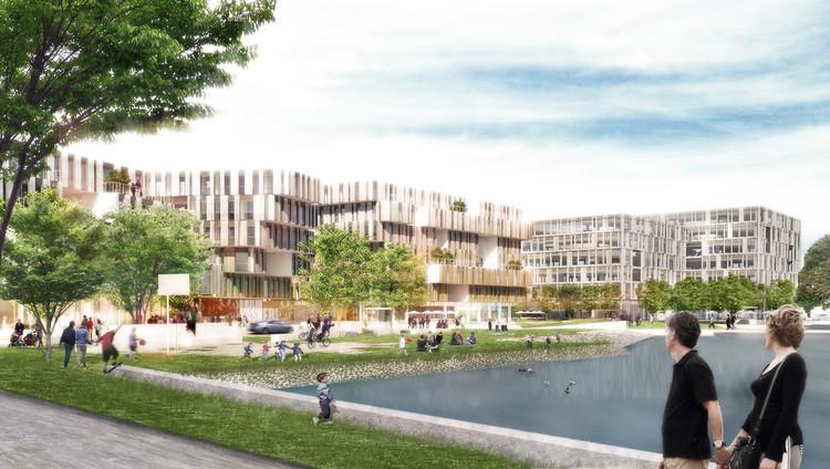 Henning Larsen Architects Projeta a Nova Sede Dinamarquesa para a Microsoft, Cortesia de Henning Larsen Architects