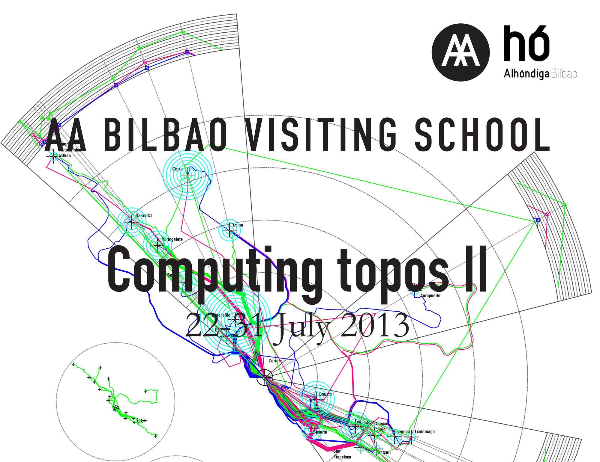 """AA Bilbao Visiting School: """"Computing topos II"""", © AA Visting School"""