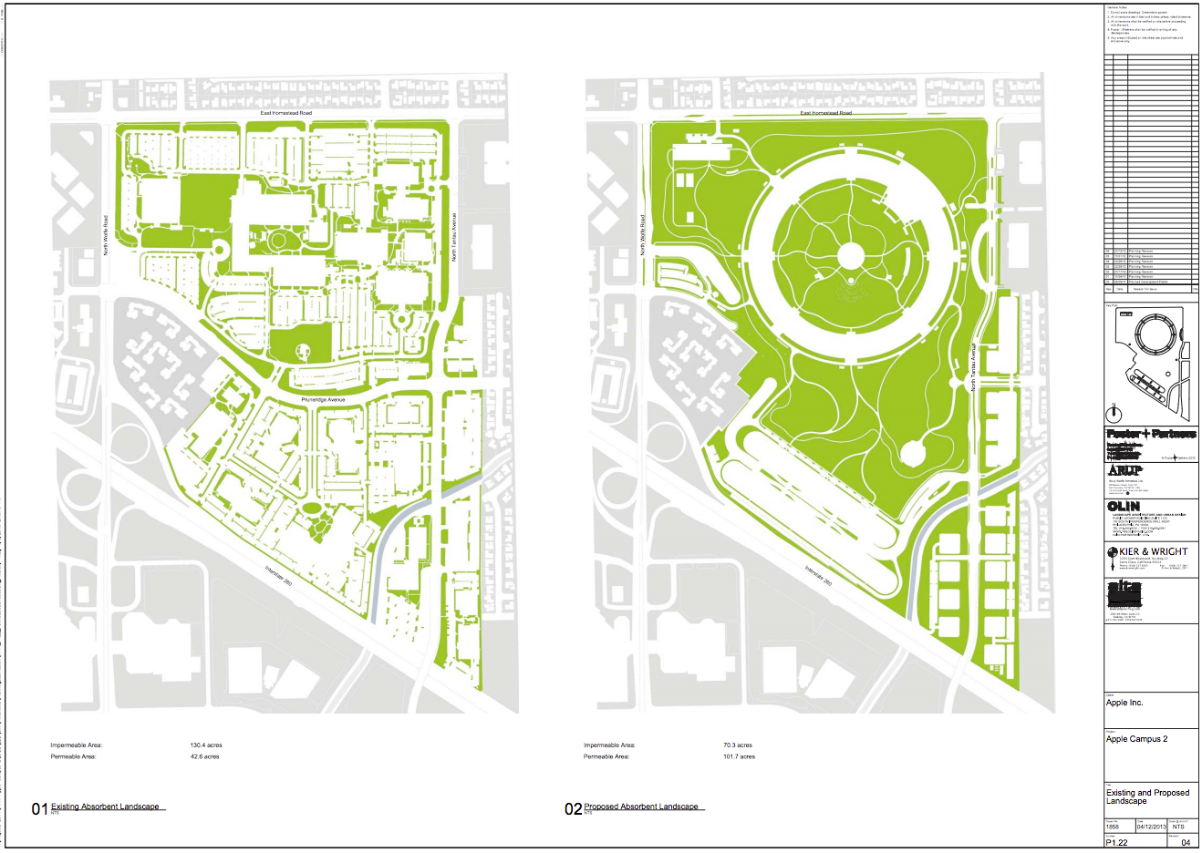 2 Story Floor Plans With Garage Updated Plans Released For Foster Partners Apple Campus
