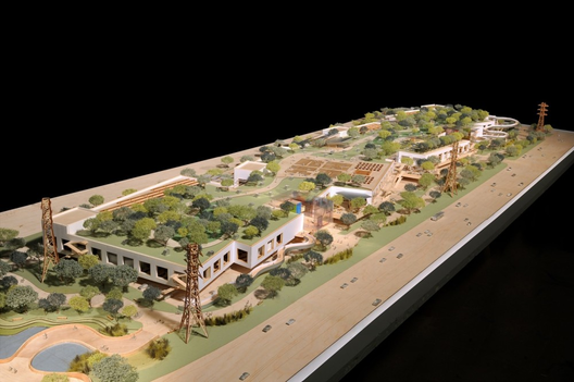 New Facebook Campus designed by Frank Gehry via bloomberg