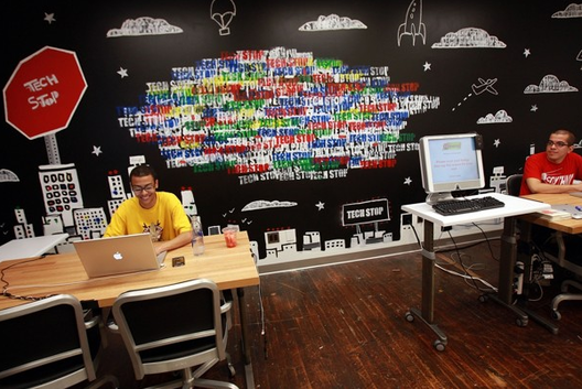 Google's New Chelsea Office via getty images