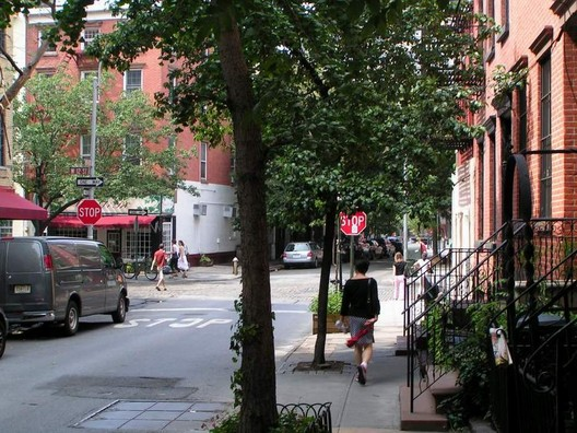 Hudson Street, West Village (via cyburbia.org)